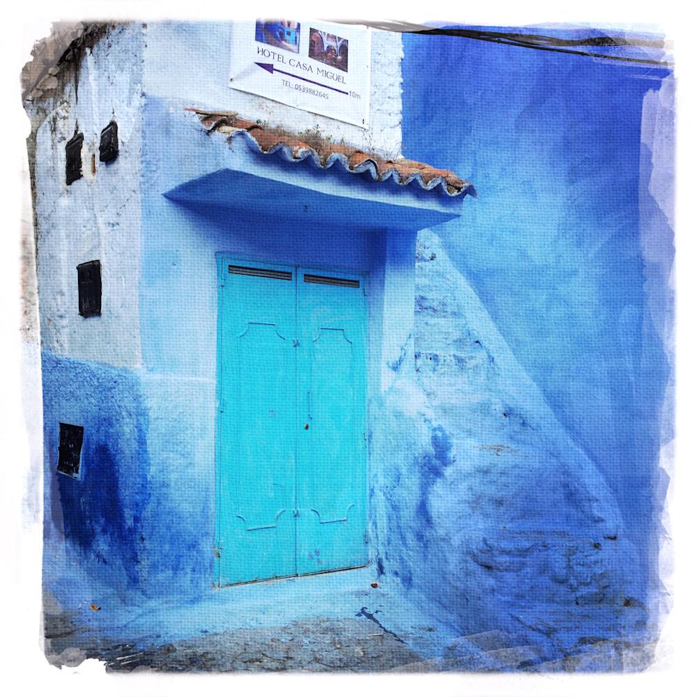 Chefchaouen blue walls 2 kveby3