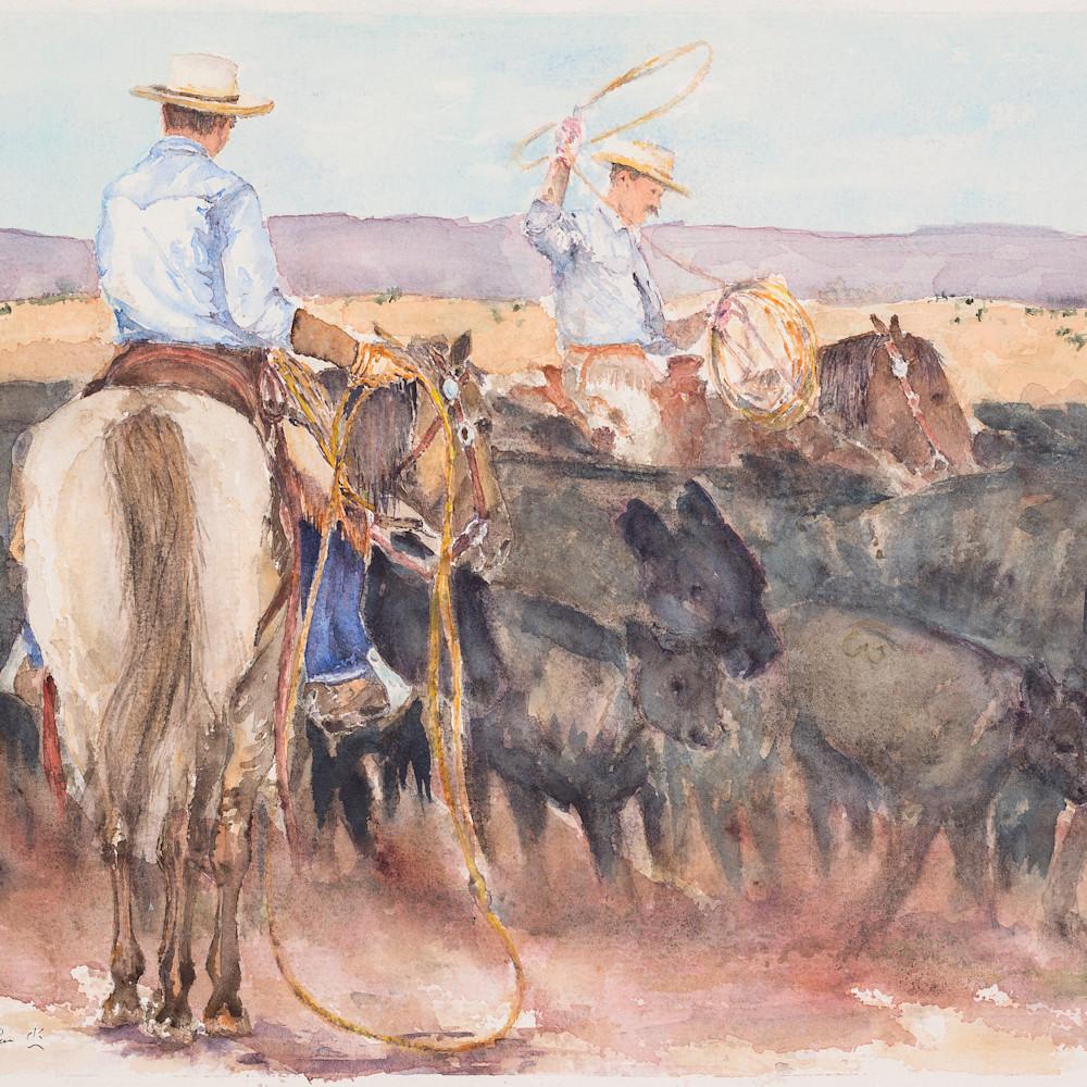Ropin the rodear hires ldj6kr