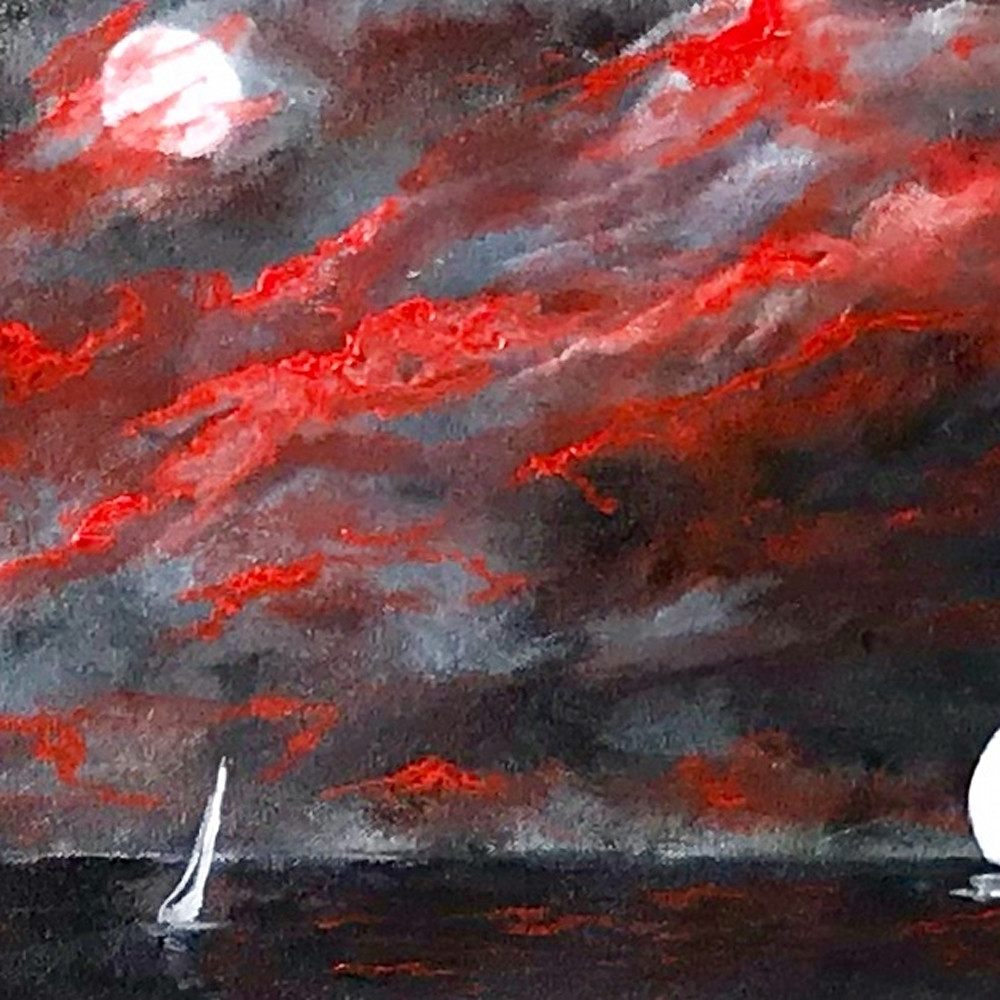 Sailing in the moonlight hytube