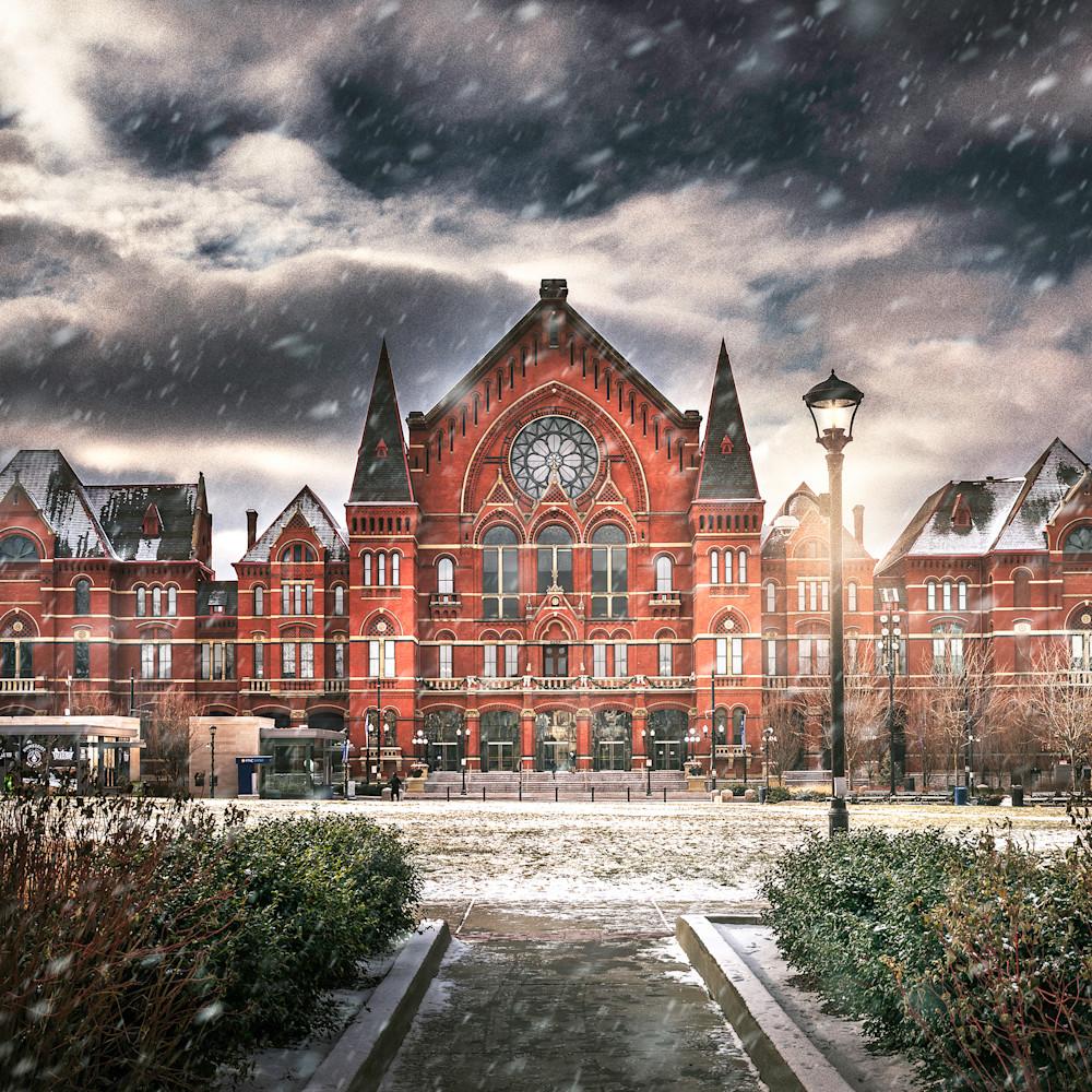 Music hall snow 12x18 eh8oji