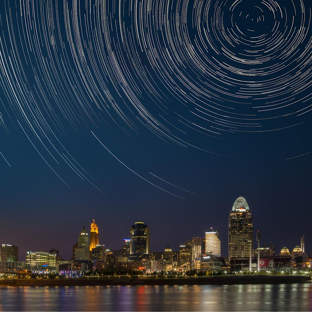Cincinnati trails 24x16 digital composite image mmbuqm