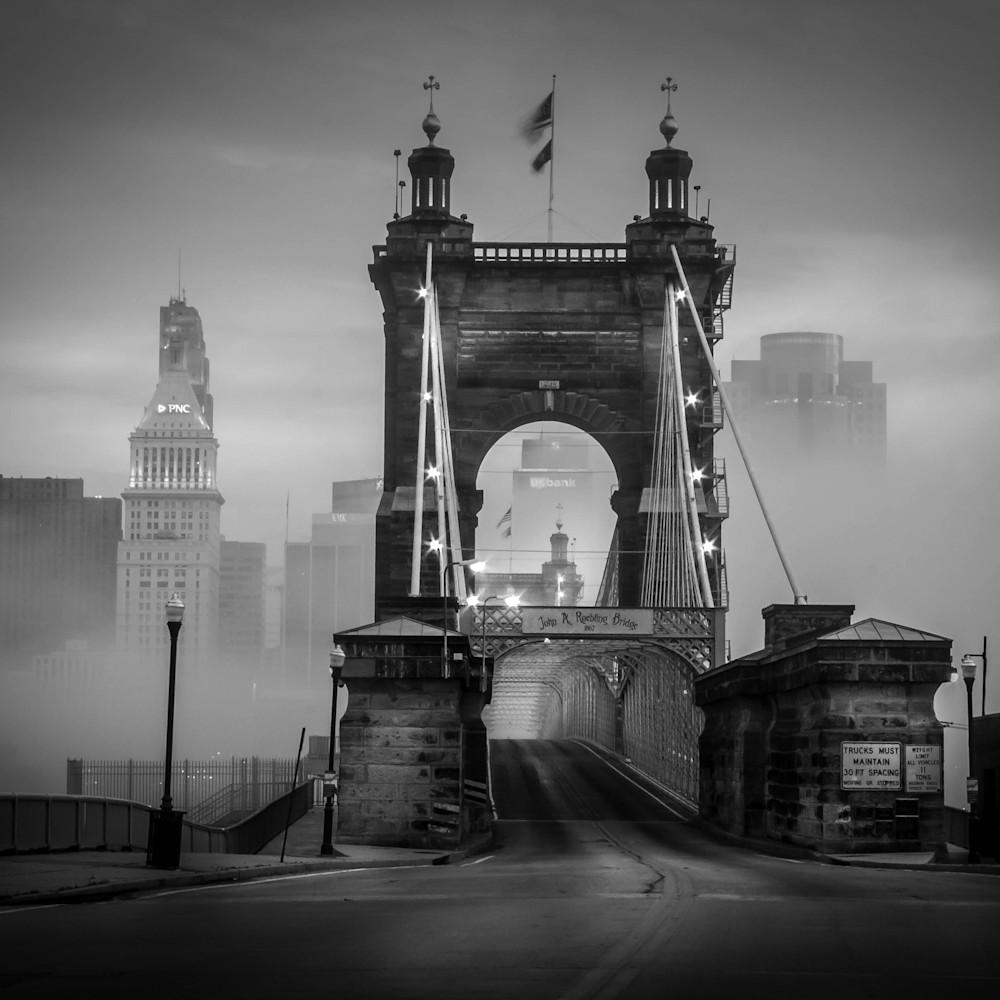 Foggy bridge ii 12x18 umrqq9