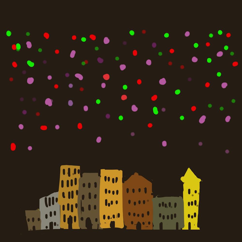 City at night l6aqe9