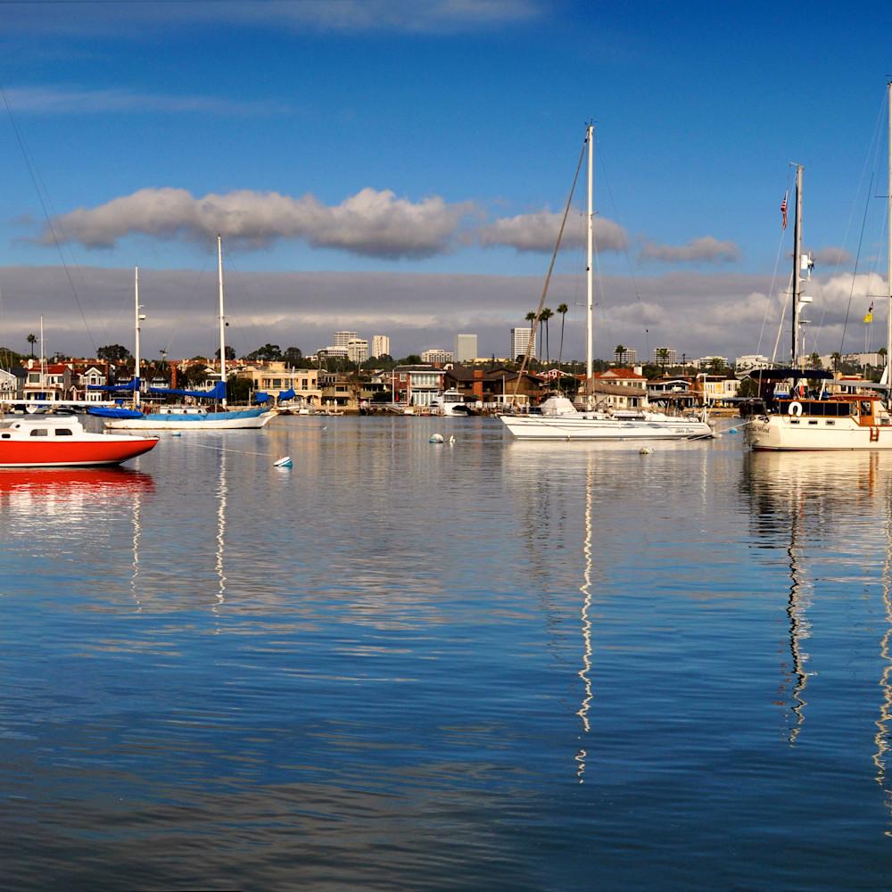 Balboa island california panorama ubgtfq