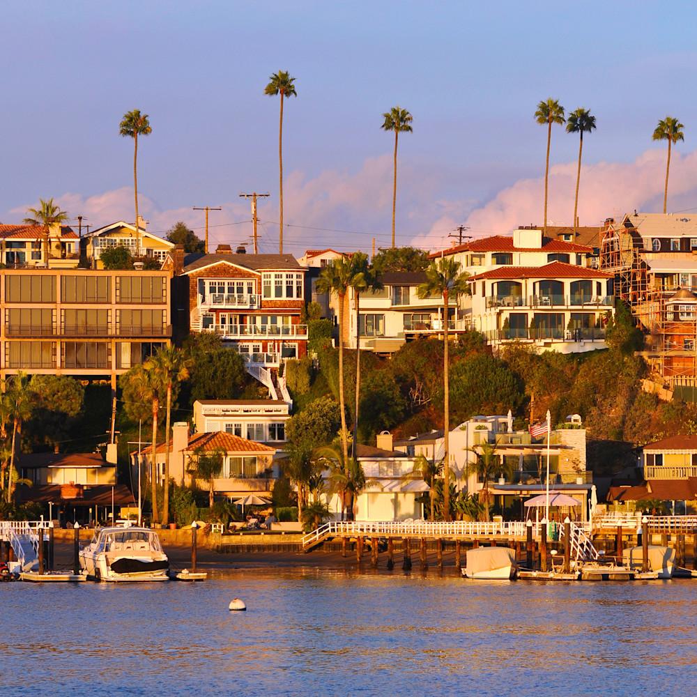 Corona del mar california newport  beach panorama vm7qqt