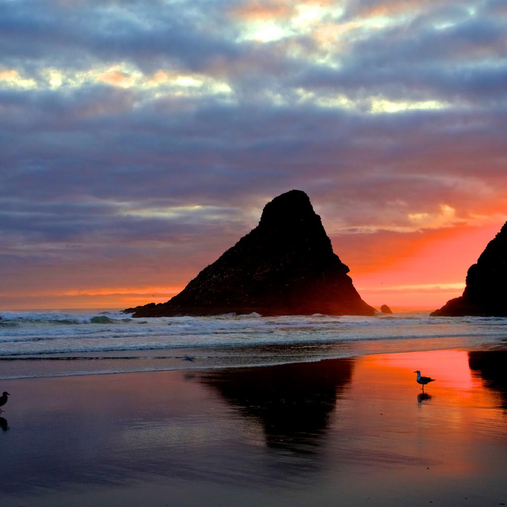 Devils elbow sunset heceta beach oregon buauyi