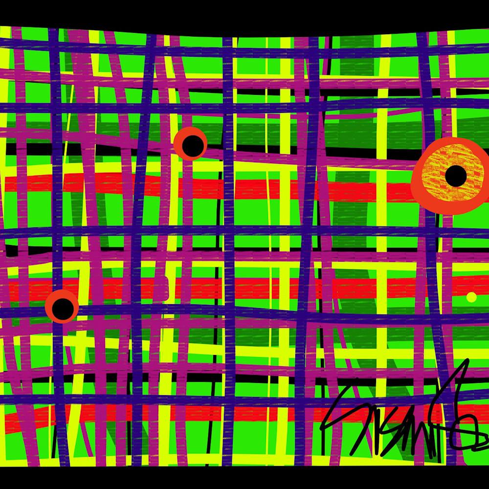 Eyes on the grid susan fielder art  150 l3vxyz