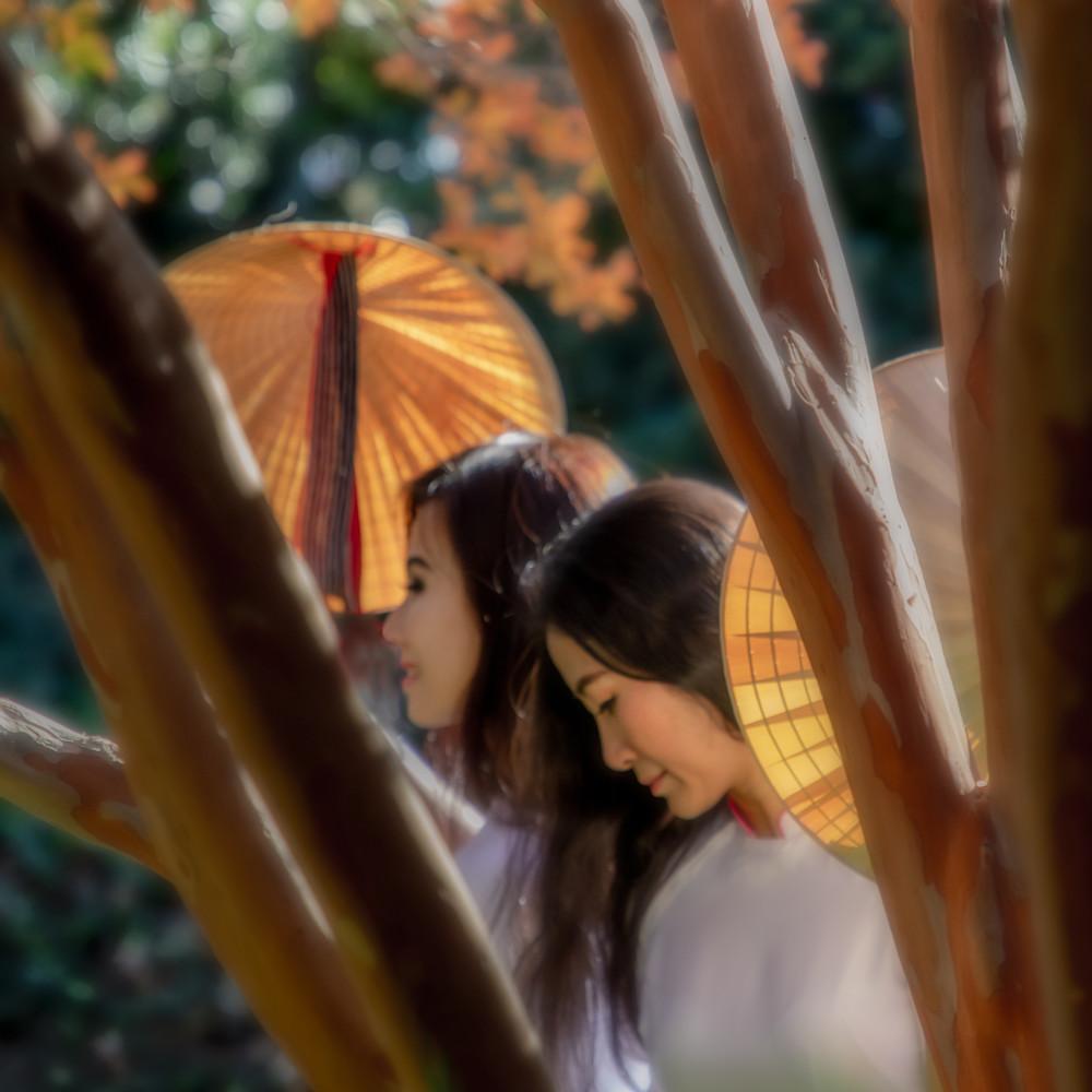 Vietnamese ladies in autumn ekzfiq