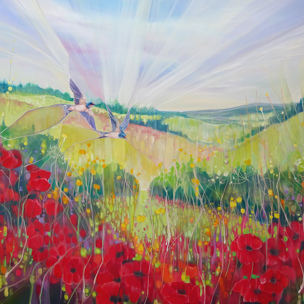 South downs summer by gill bustamante d1 mhfnbm