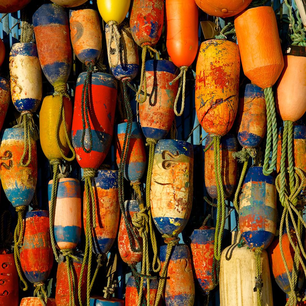 Vibrant colorful buoys oregon pldxsw