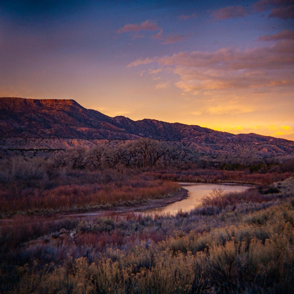 Sunset chama river abiquiu qtlsw1