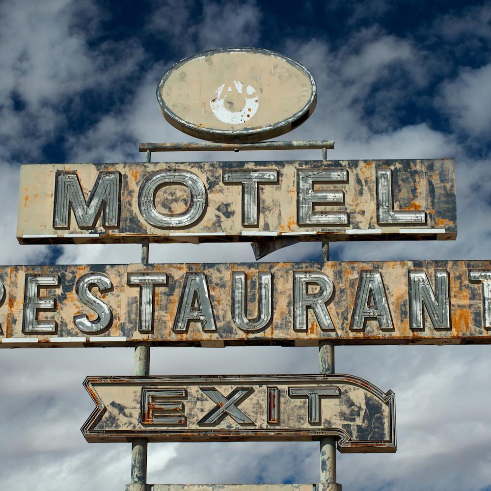 Motel restaurant exit arizona oogw2u