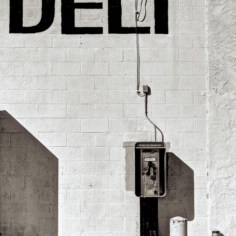 Vintage phone deli store california pfumah