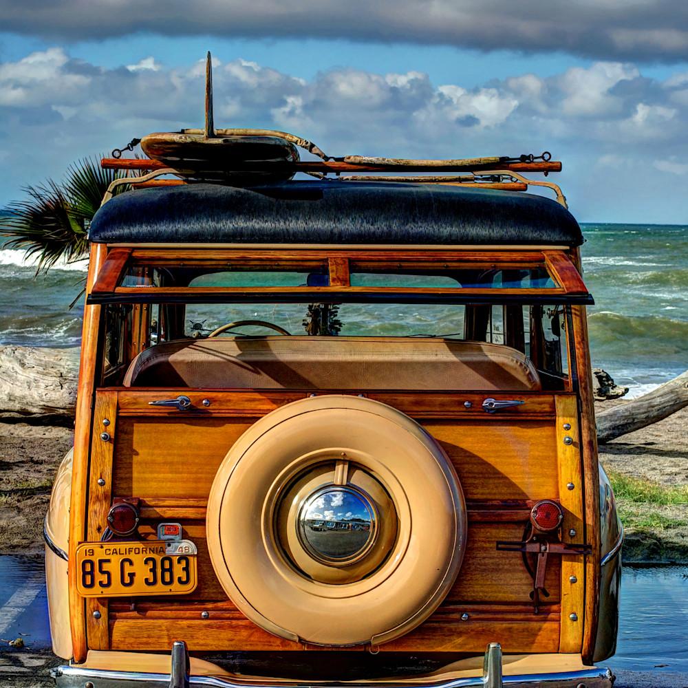 Woody at doheny beach car show tnzbsg