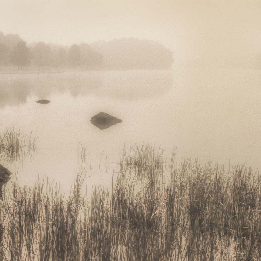 Pond scene early morning ohio cid5xj