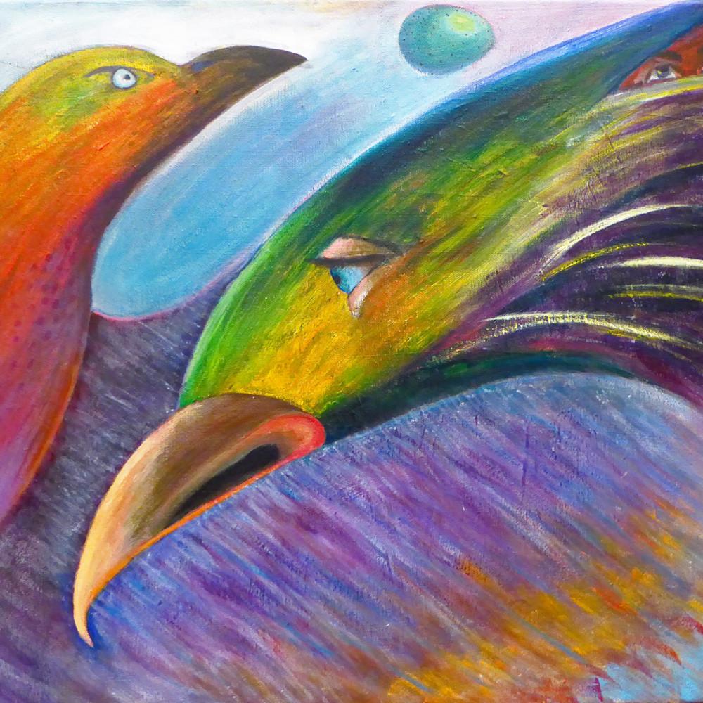 Abstract birds for print o4uxz5