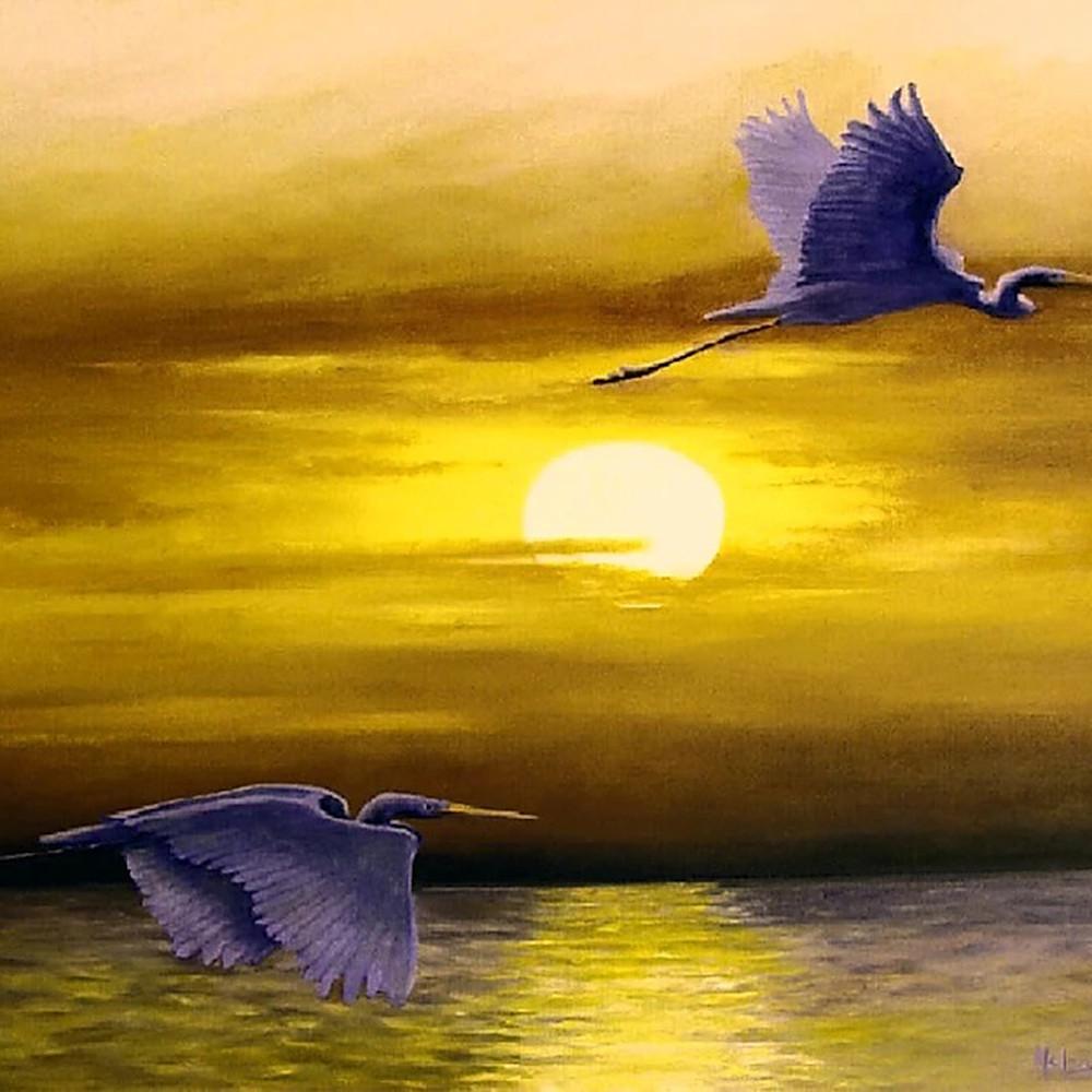Sunset flight sbb4pe