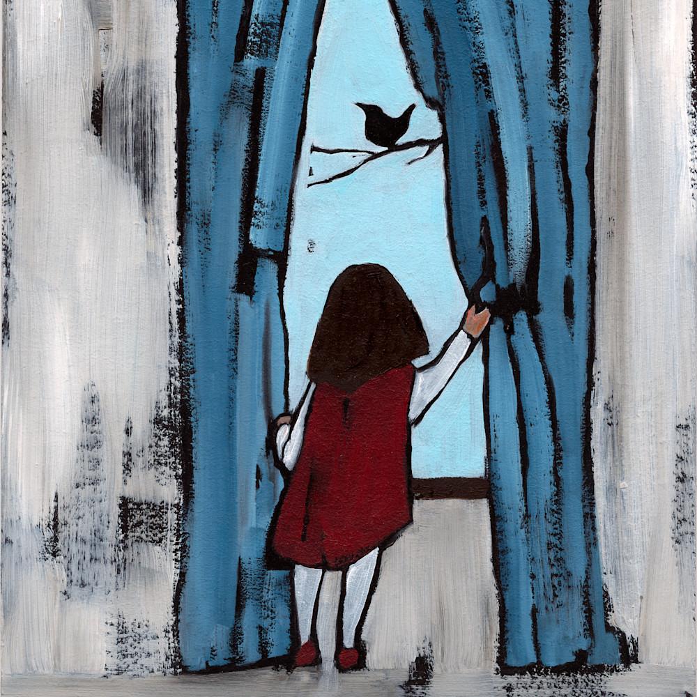 Hope bird at the window ekbgzg