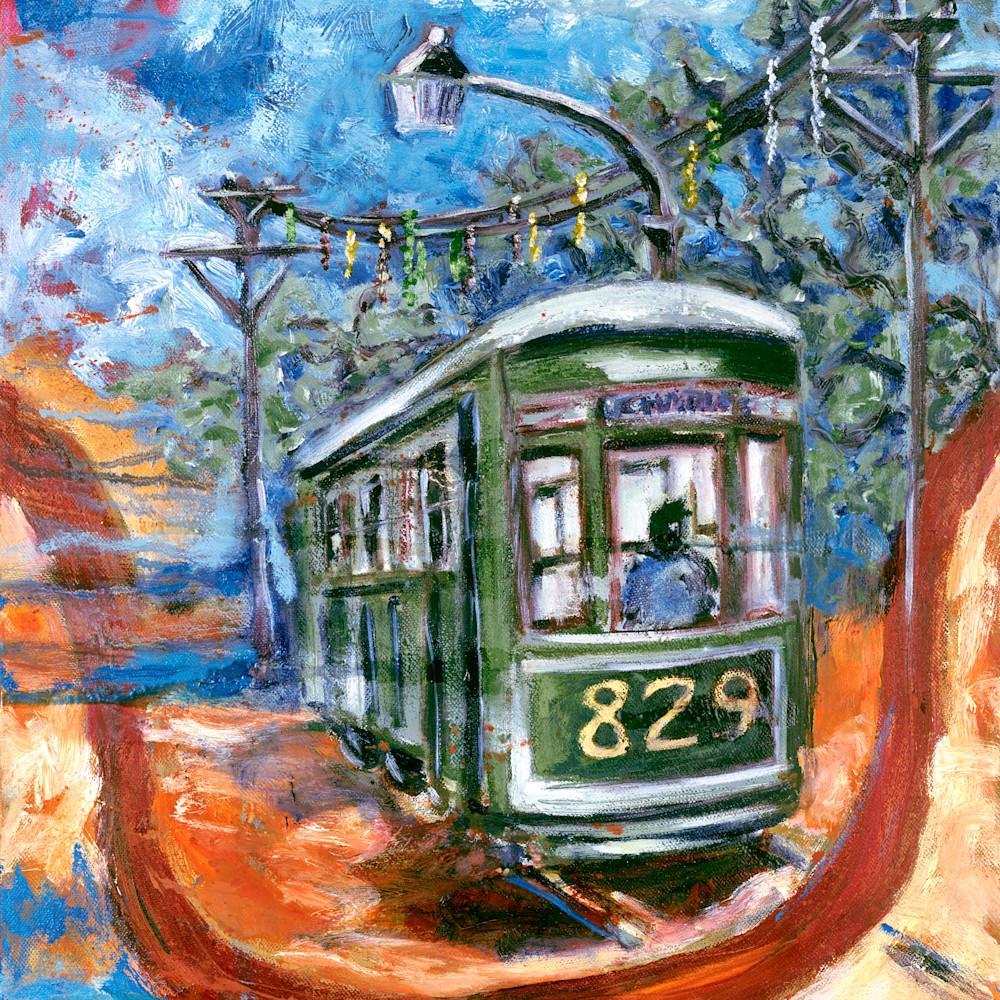 Trolley car 829 katrina b6gldd