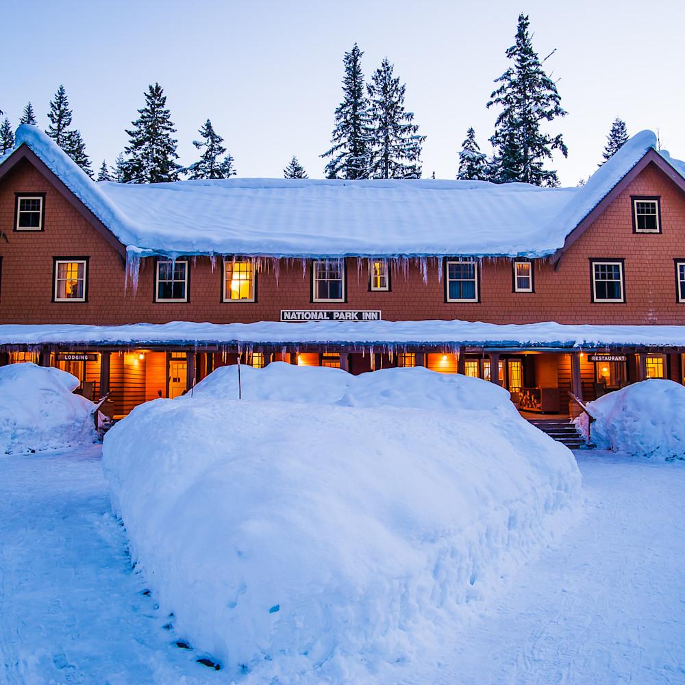 Winter national park inn mount rainier washington 2017 xtfgvg