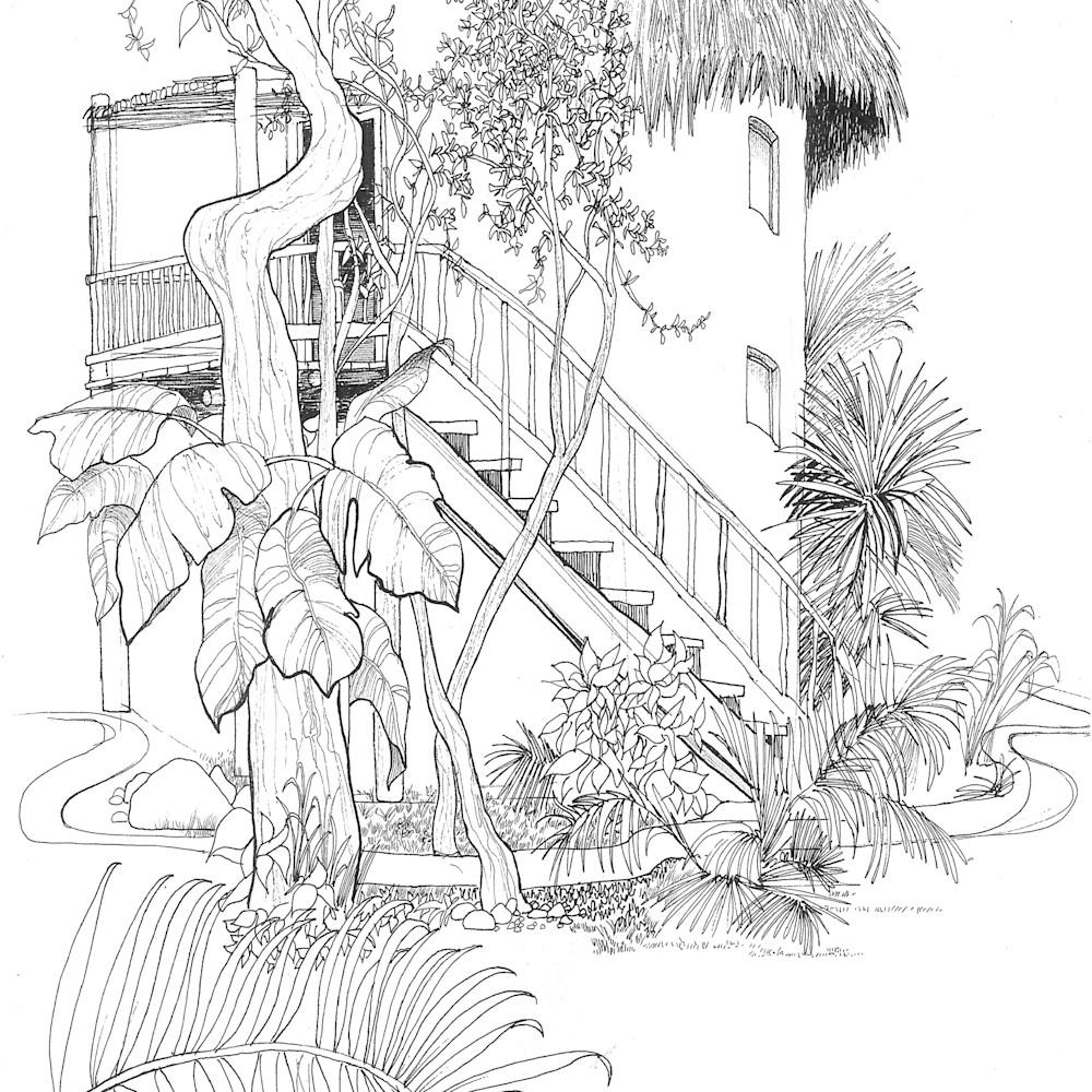 Sketch  cozumel mexico tiyvoe