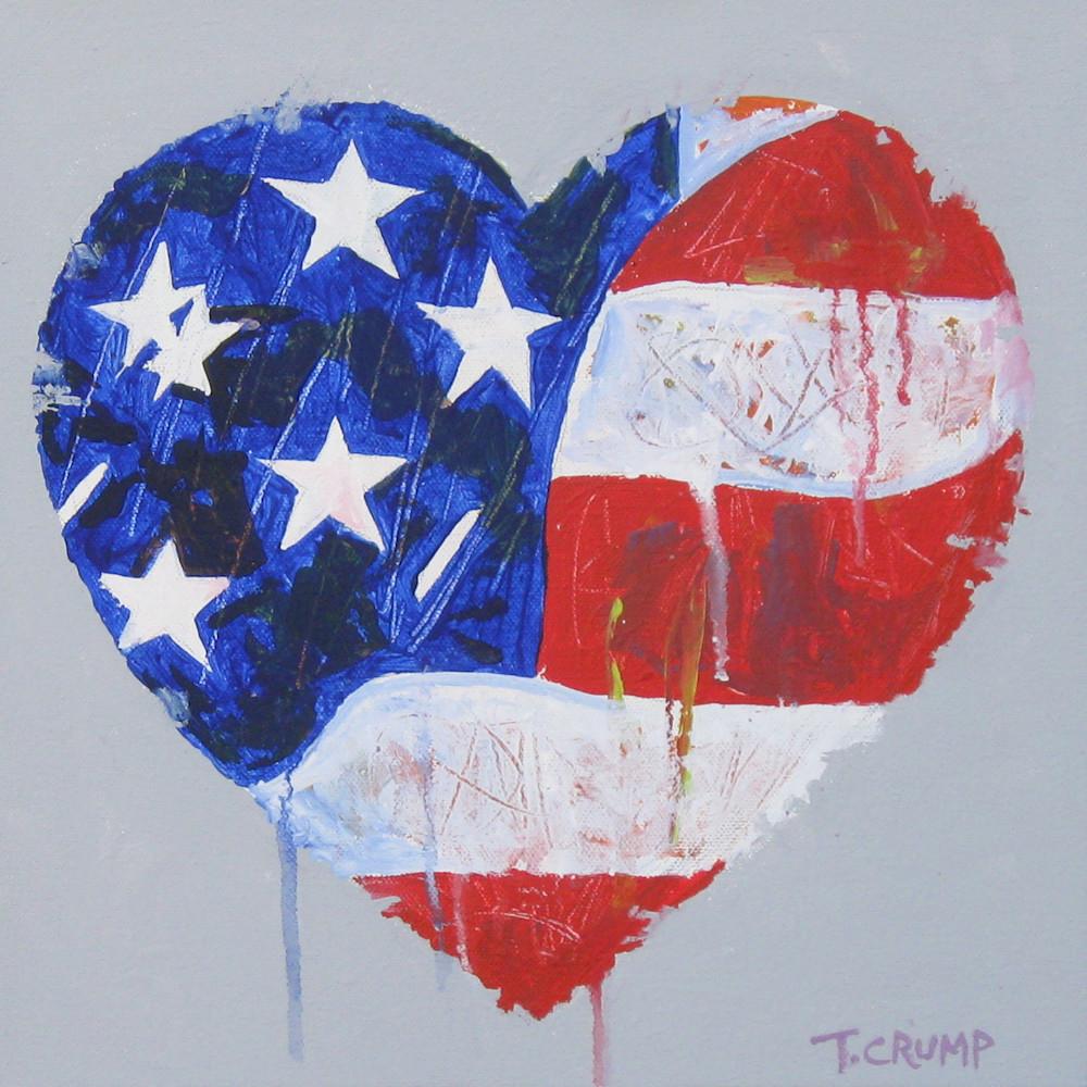 Flag heart jvkolf