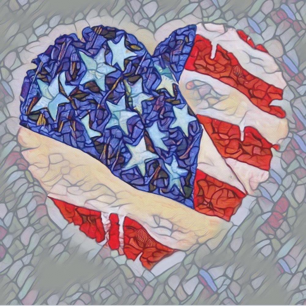 Heart flag ii wke8bu