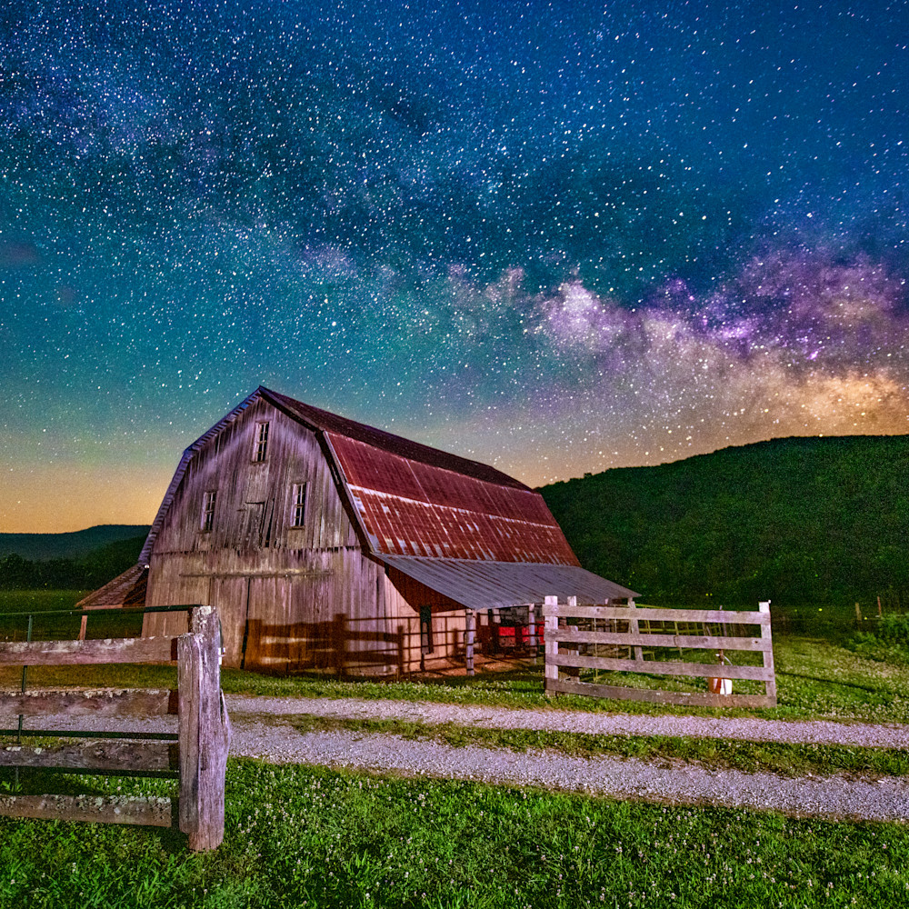 Andy crawford photography milky way over the boxley valley wg45cd