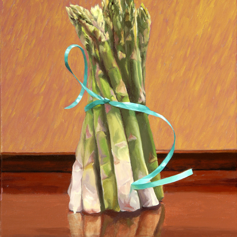 Asparagus tied with a blue ribbon 2011 bigrkz