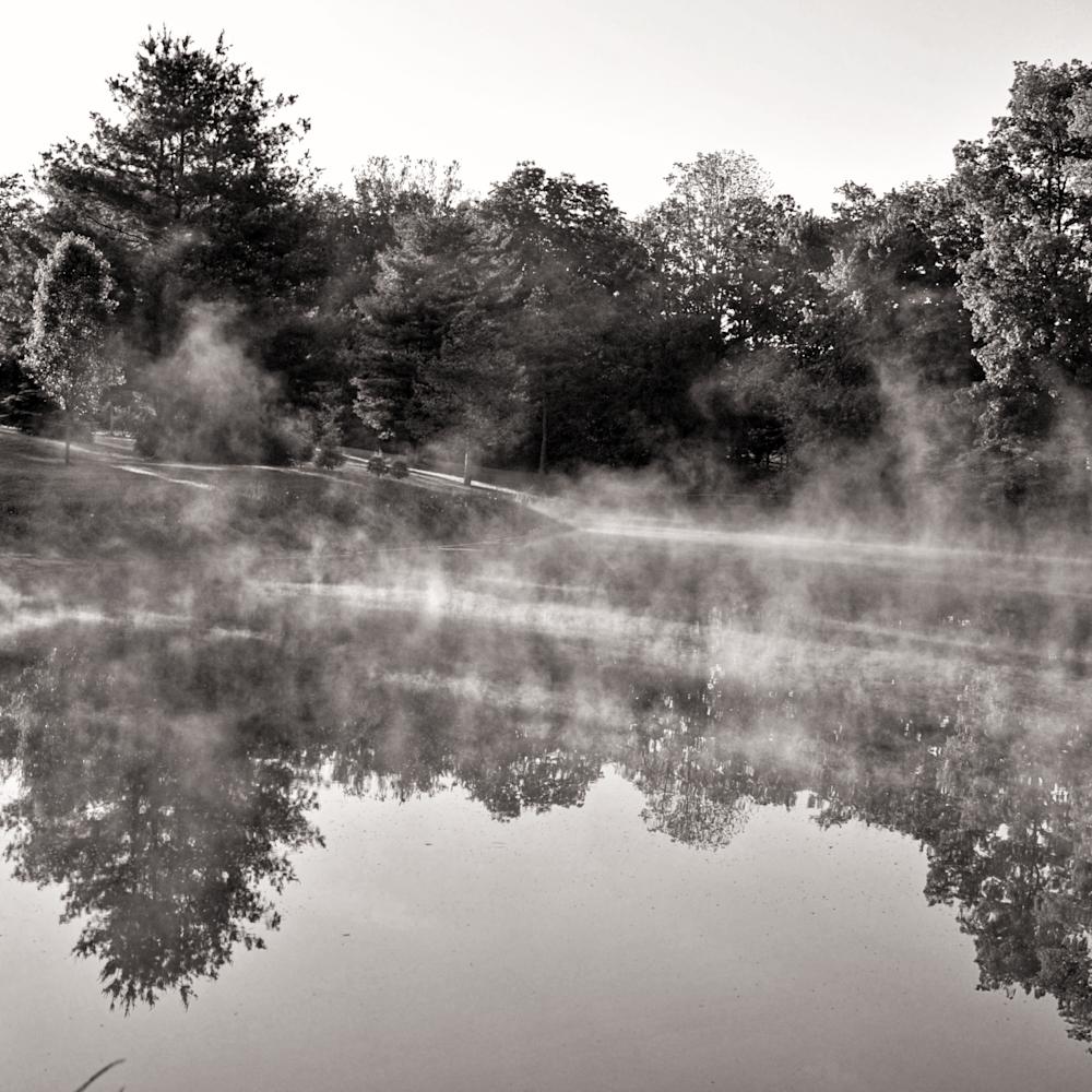 September morning pond ohrodi