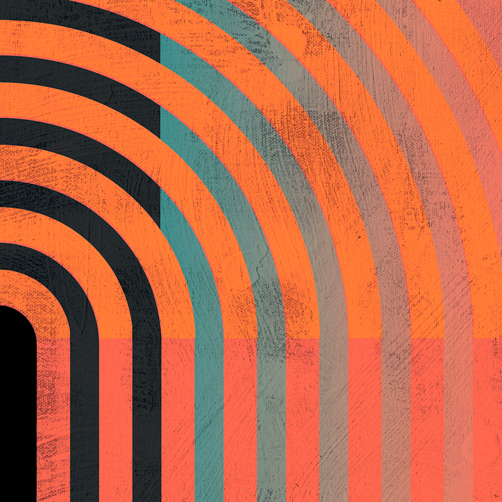 Abstract art stripes 80s 2 jhobm3