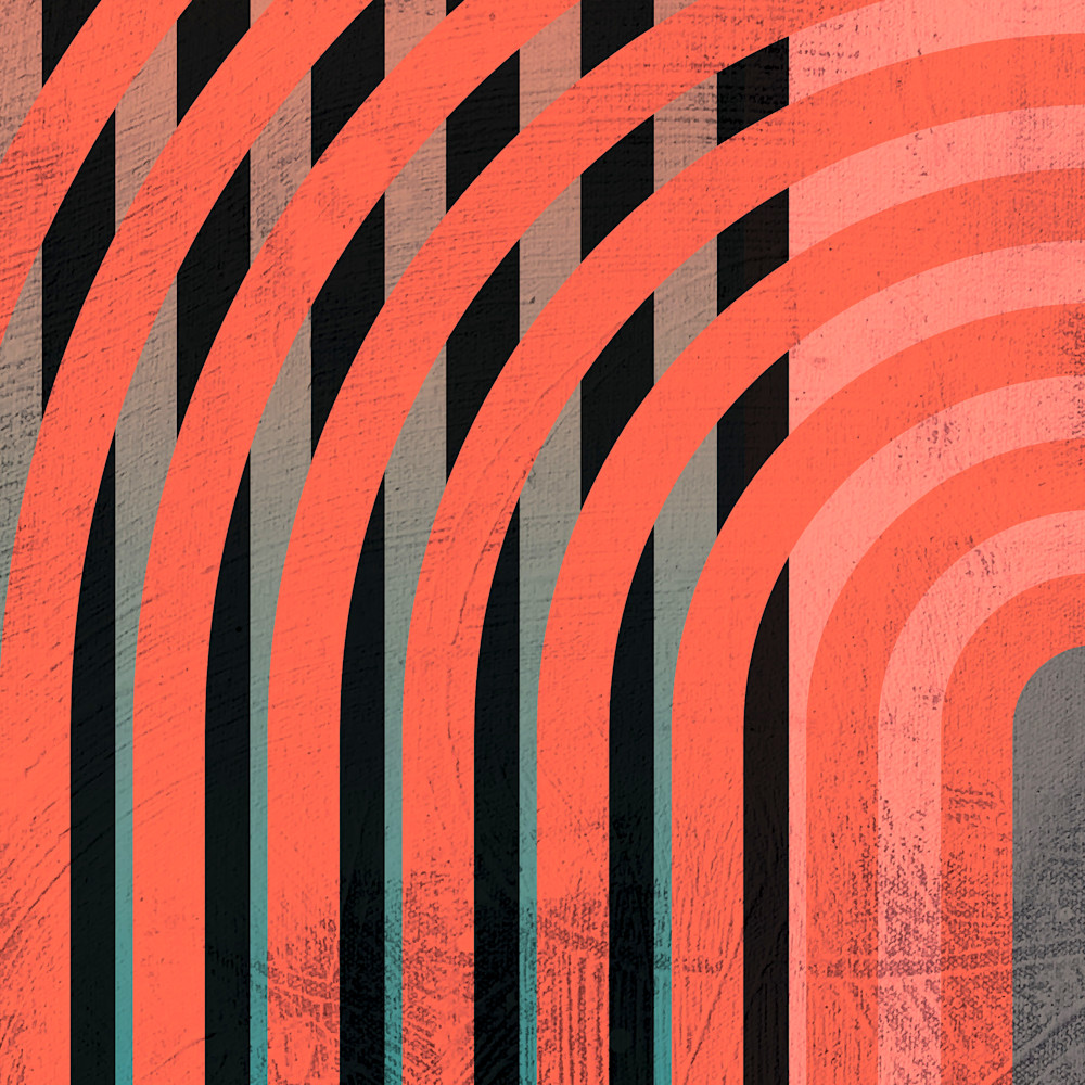 Abstract art stripes 80s 1 j69nid