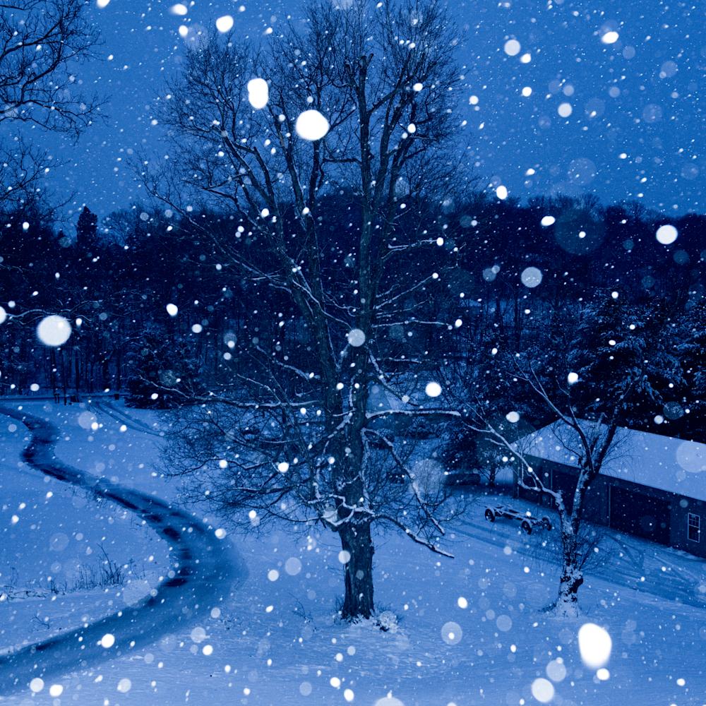 Suburban snowfall 4 m84anm