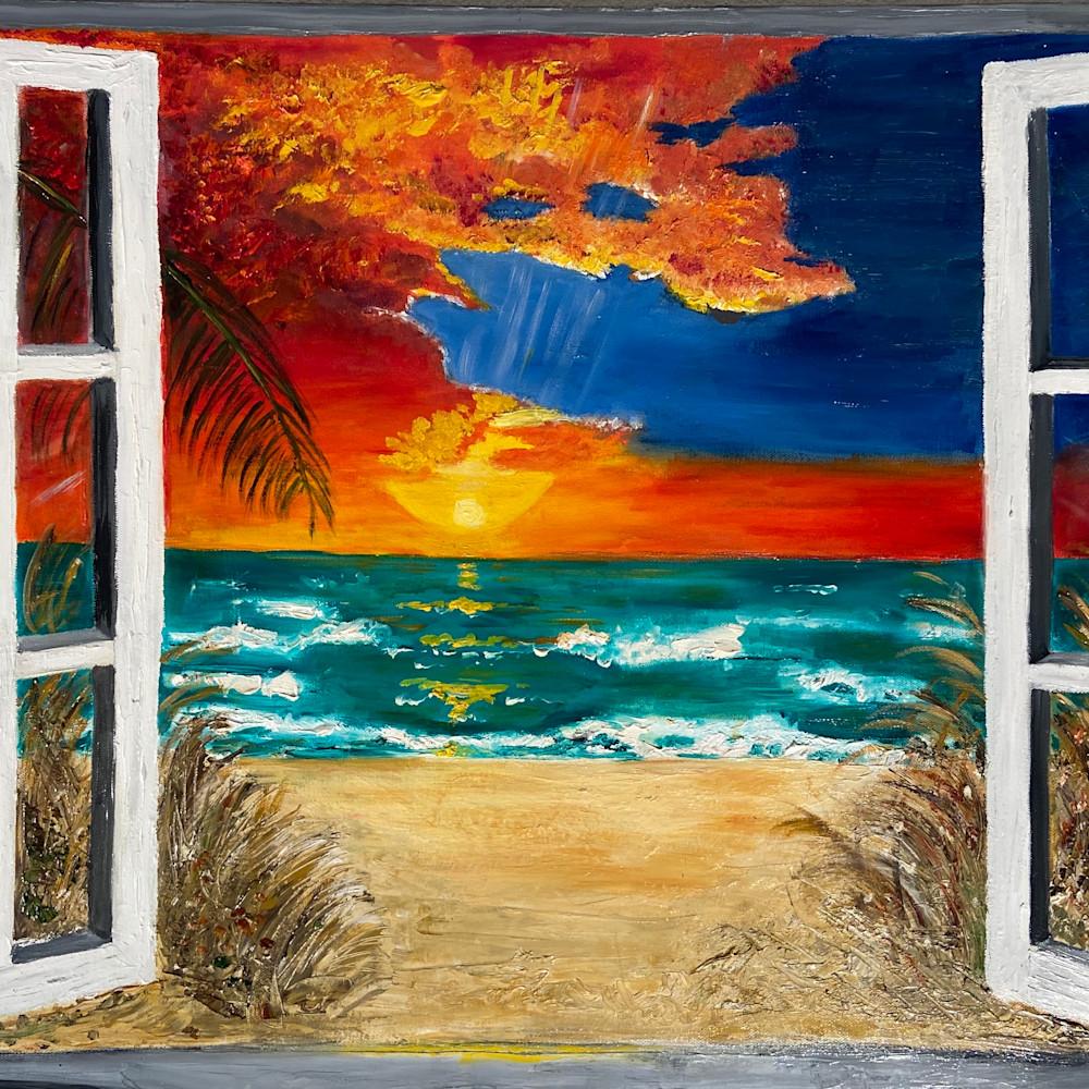 Paradise through the window fbmhw0