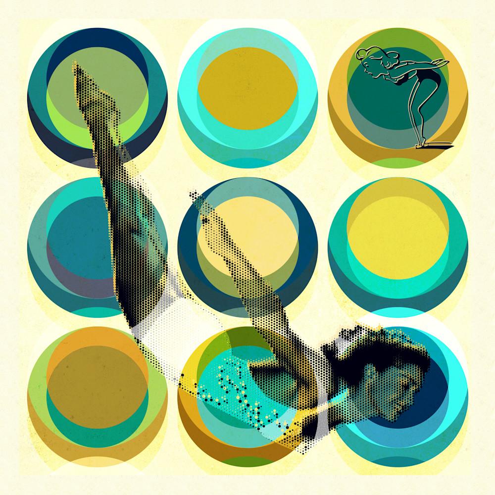 Diving lady 01 mod city gallery nphhkd