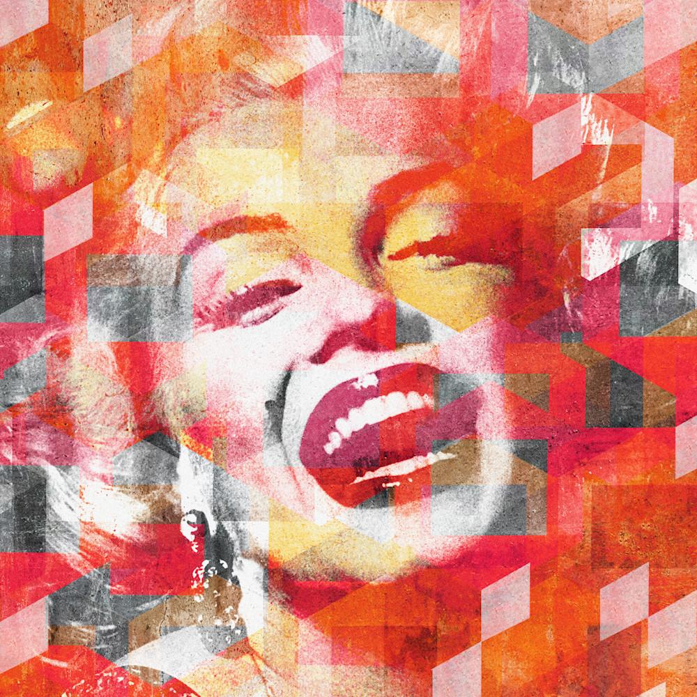Marilyn monroe laughing mod city gallery q70w2b