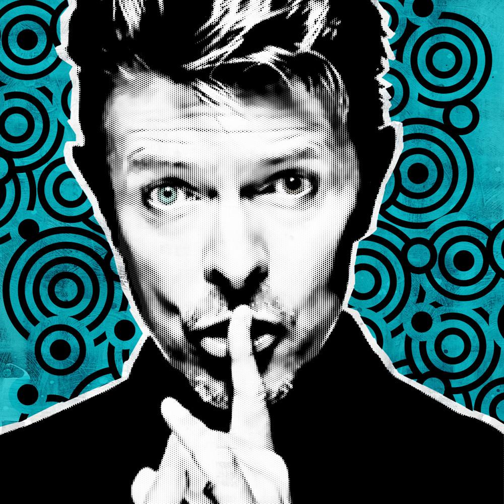 David bowie art secret whisper blue rjgvjq