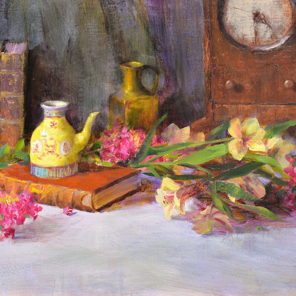 Antique books and chinese pot print d610 6000 jlkwqz