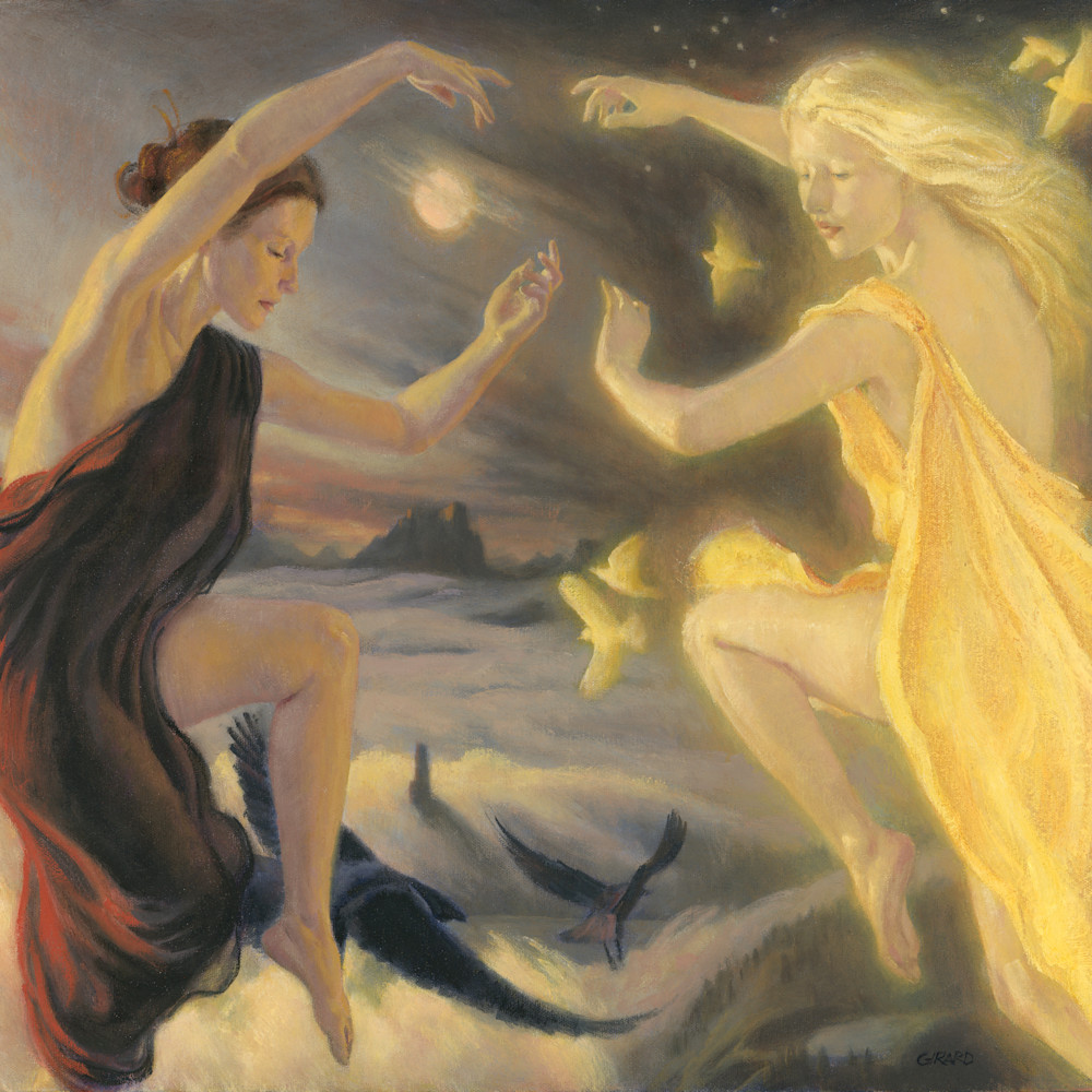 The dance of the earth night and sunna zxgpus