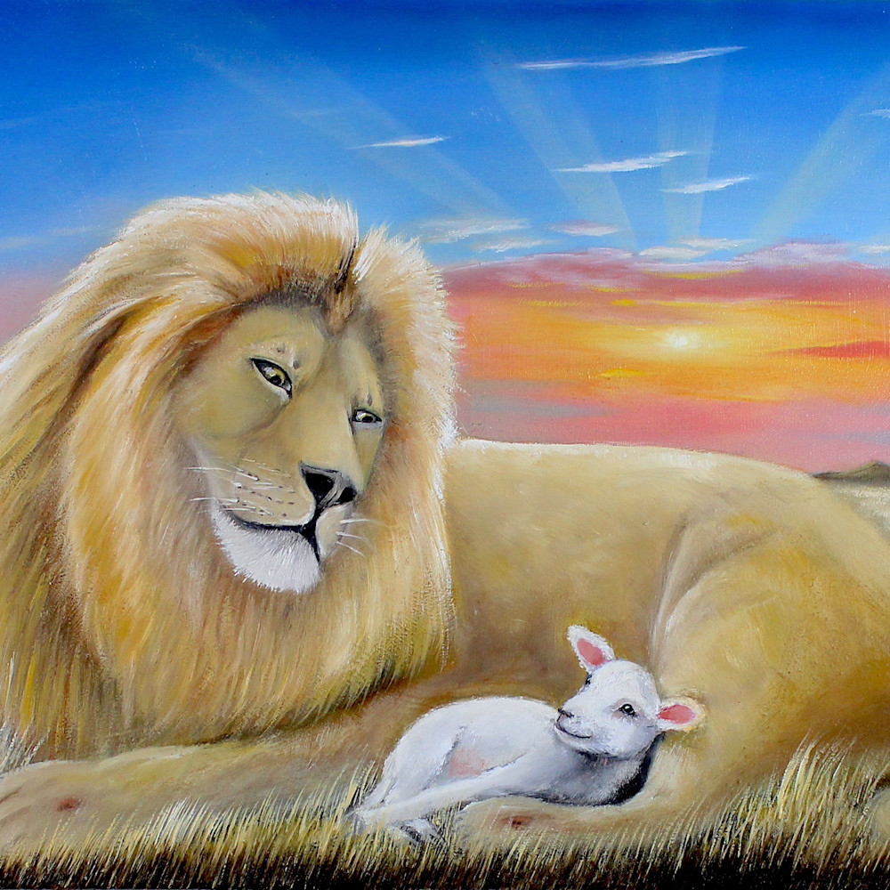 The lion and the lamb 1 lzmcij