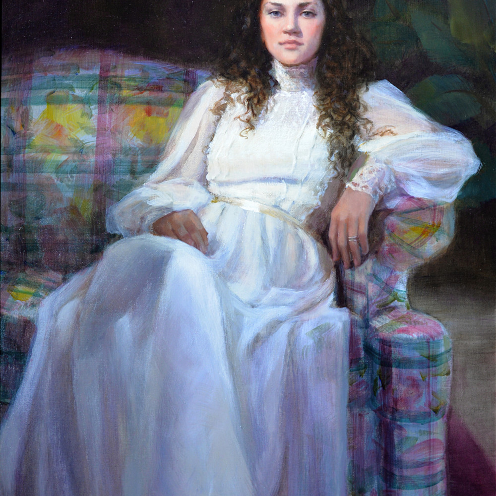 Lady in white print d610 6000 cb2kkk