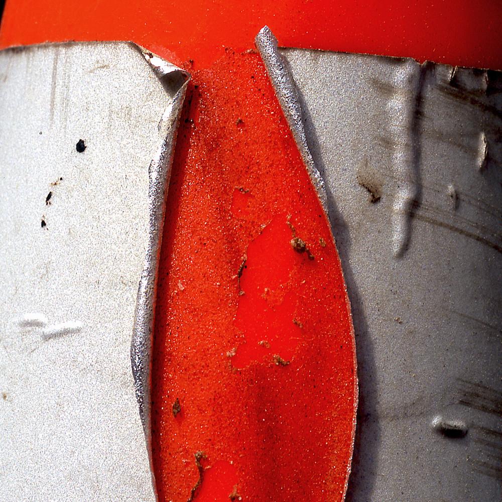 Closer ny orange cone acny2195 abstract photography sherry mills print 2 b9lty7