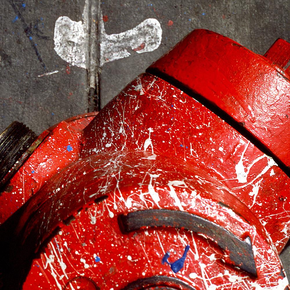 Closer ny hydrant acny2185 abstract photography sherry mills print yxeujv