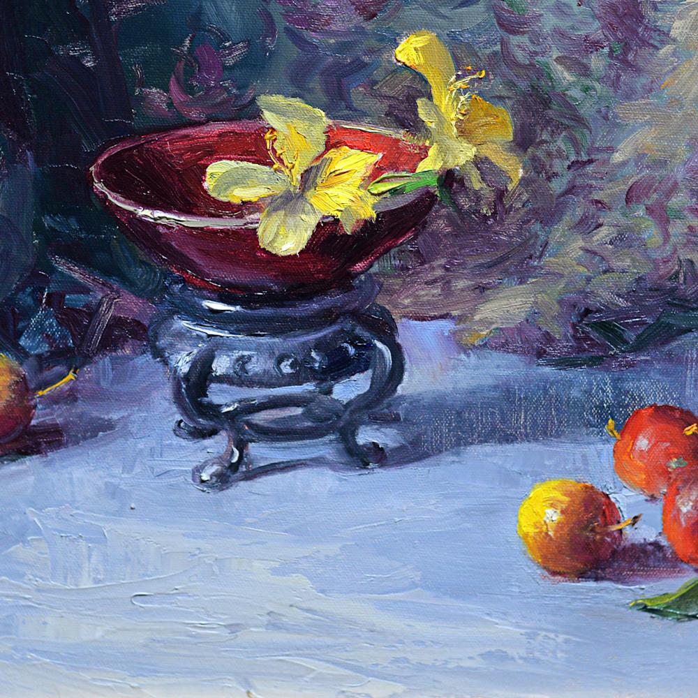 Chinese bowl and cherries print d610 6000 x0q0s8