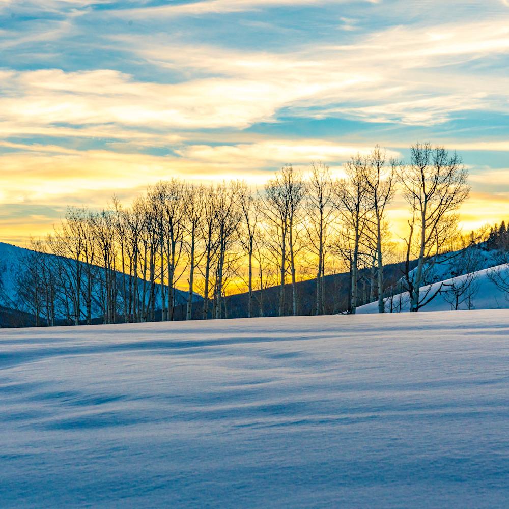 Winter sunset 2x3 print gomgh7