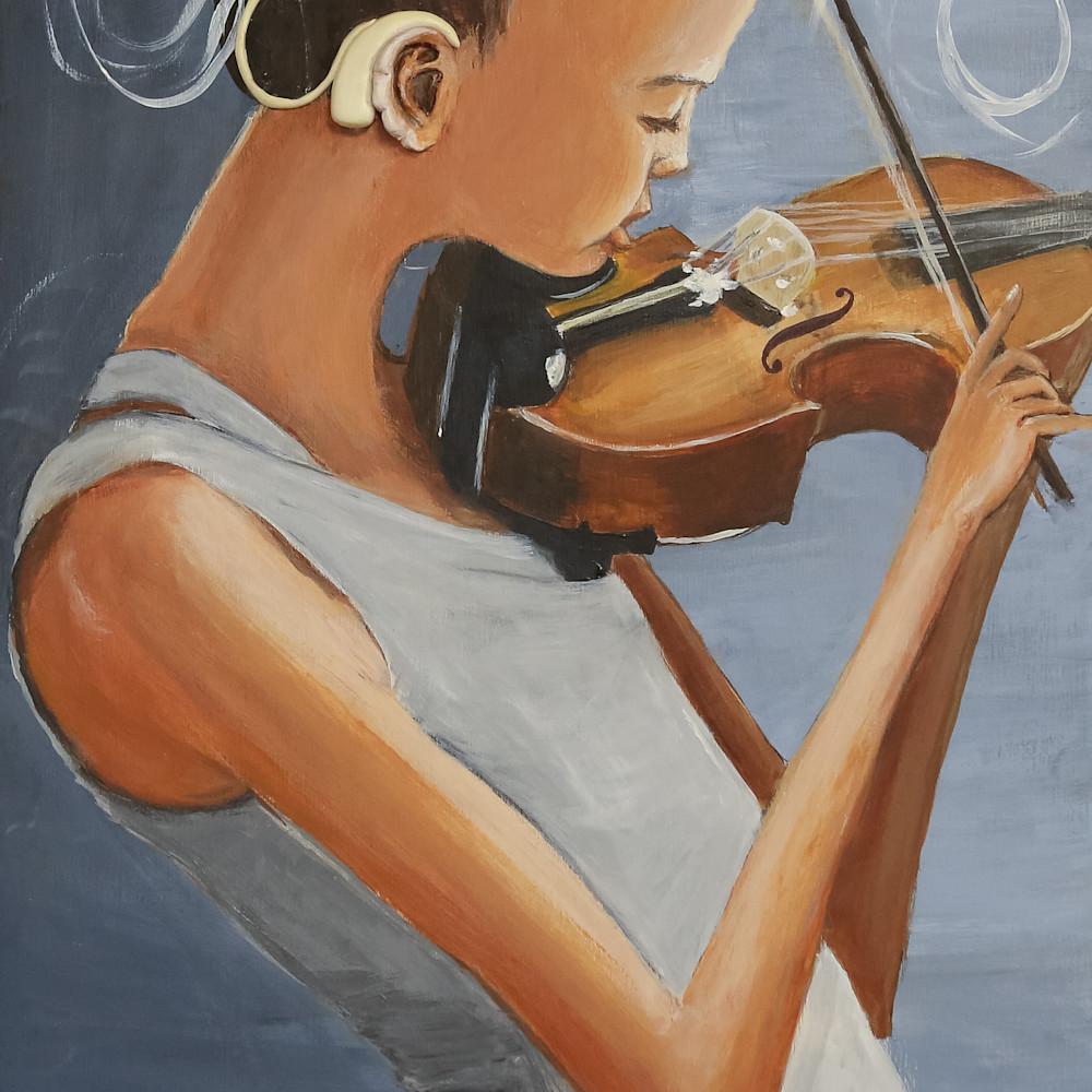 The violin player priscila soares print 4 uhu2xq