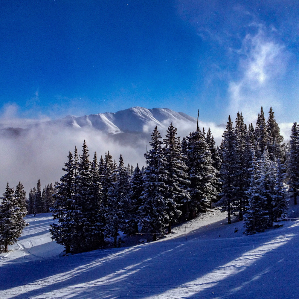 Baldy from breck resort 2x3 print a9xao7
