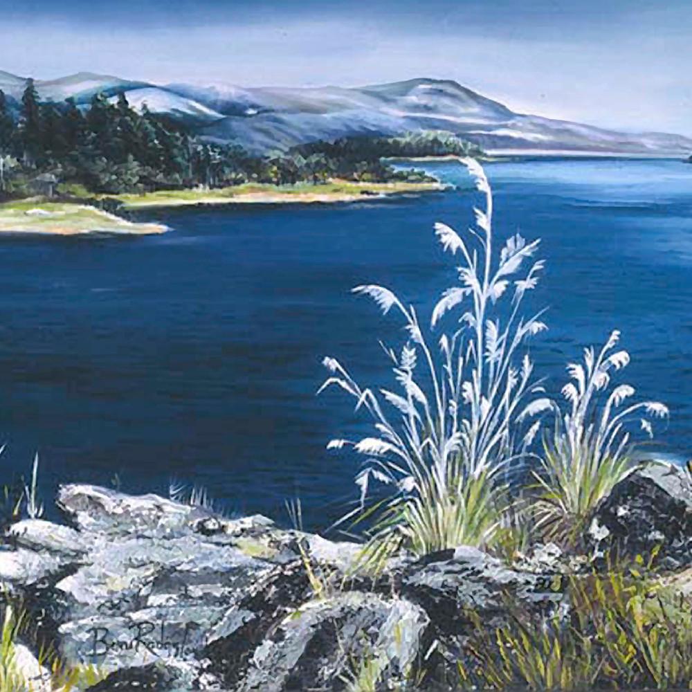 Represas de chivor 2004 oil on canvas cmmrqj