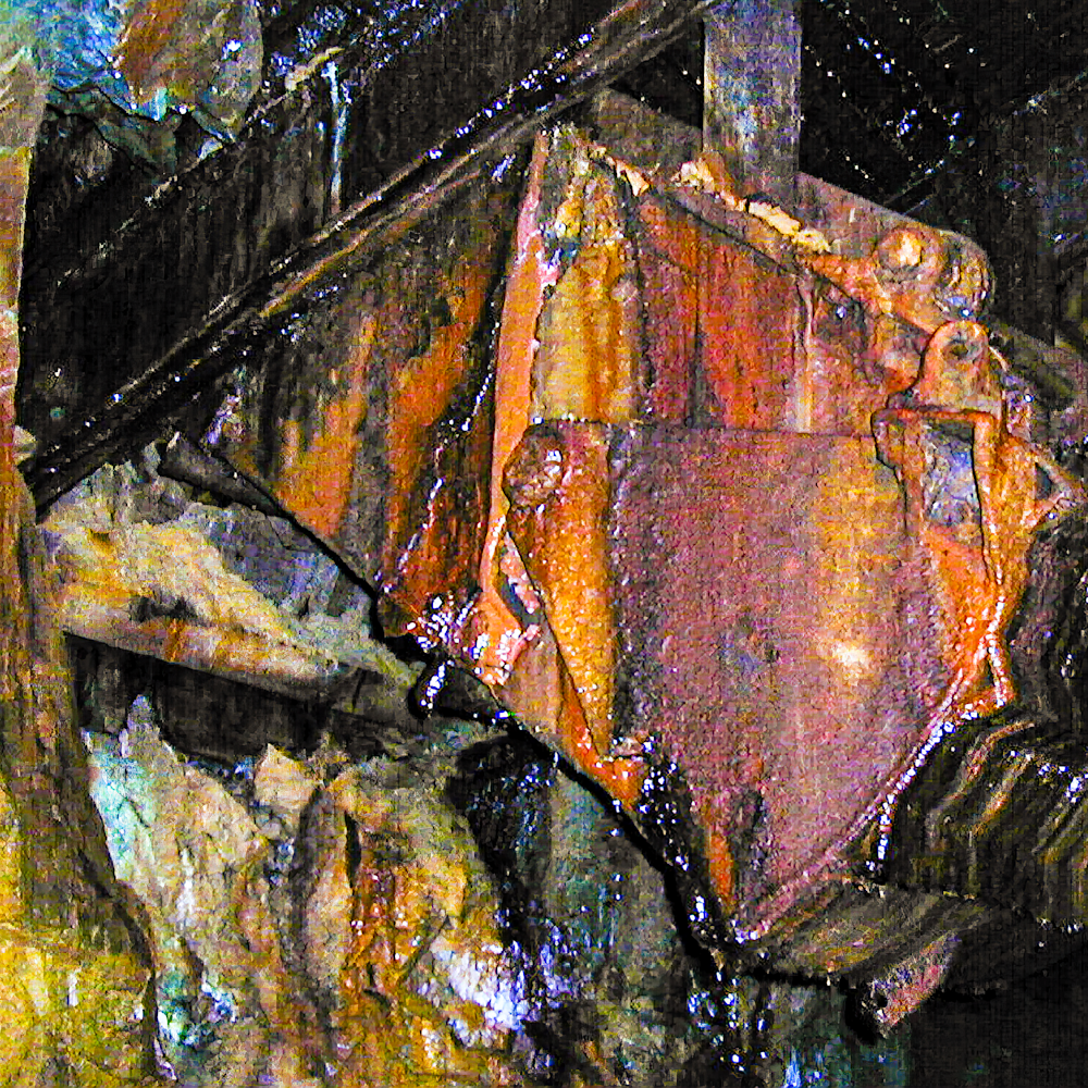 Abandoned gold chute scoop silverton co hct0kv
