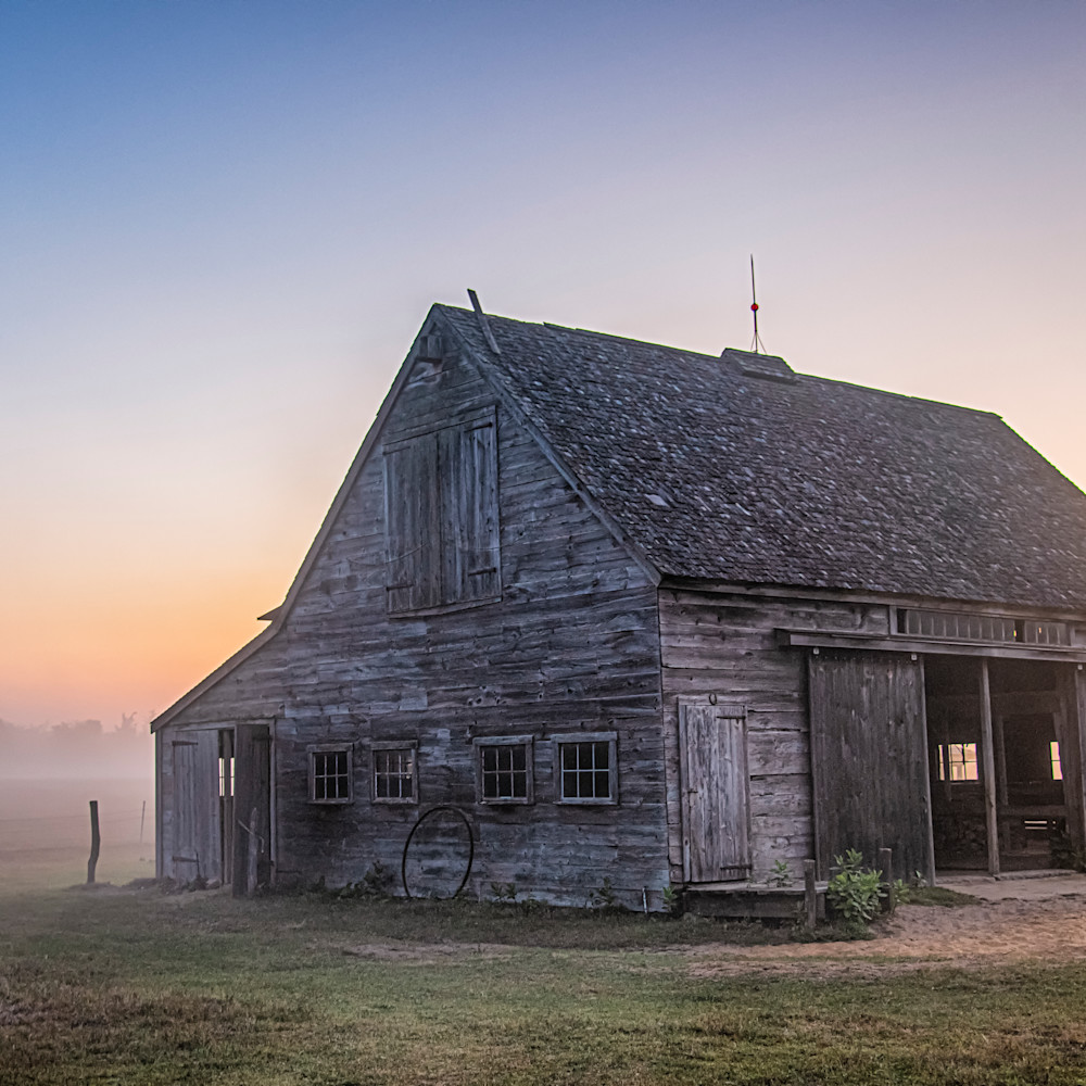 Honey barn late summer fog ixdaxp